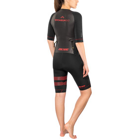 Colting Wetsuits Swimrun Go Wetsuit Dame black/red
